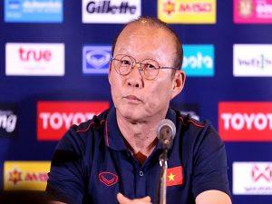 Park Hang Seo phát biểu đanh thép trước trận đấu Việt Nam vs Thái Lan