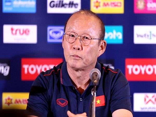 parkhangseo phát biểu đanh thép trước trận đấu