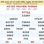 Soi cầu KQXSMB ngày 24/09/2020- xổ số miền bắc thứ 5 chuẩn xác
