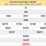 Soi cầu XSGL ngày 18/9/2020 chốt số dự đoán kqxs hôm nay
