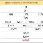 Soi cầu XSLA ngày 24/10/2020 – Soi cầu dự đoán xổ số Long An hôm nay thứ 7