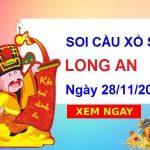 Soi cầu XSLA ngày 28/11/2020 – Soi cầu xổ số Long An thứ 7 hôm nay