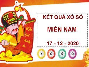 Soi cầu số đẹp sổ xố Miền Nam thứ 5 ngày 17/12/2020
