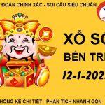 Soi cầu kết quả SX Bến Tre thứ 3 ngày 12/1/2021