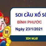 Soi cầu XSBP ngày 23/1/2021 – Soi cầu Bình Phước thứ 7 hôm nay