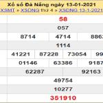 Soi cầu XSDNG 16/1/2021 chốt số dự đoán kết quả hôm nay