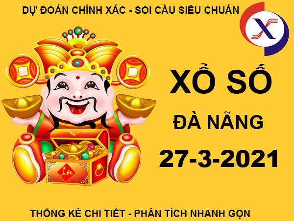 Soi cầu xổ số Đà Nẵng thứ 7 ngày 27/3/2021