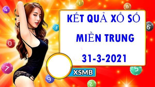 Soi cầu xô số Miền Trung thứ 4 ngày 31/3/2021