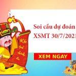 Soi cầu dự đoán XSMT 30/7/2021 hôm nay