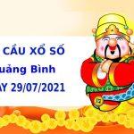 Soi cầu XS Quảng Bình chính xác thứ 5 ngày 29/07/2021