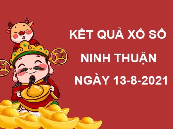 Soi cầu xổ số Ninh Thuận thứ 6 ngày 13/8/2021