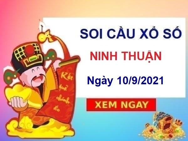Soi cầu XSNT 10/9/2021 chốt KQ Ninh Thuận thứ 6 hôm nay